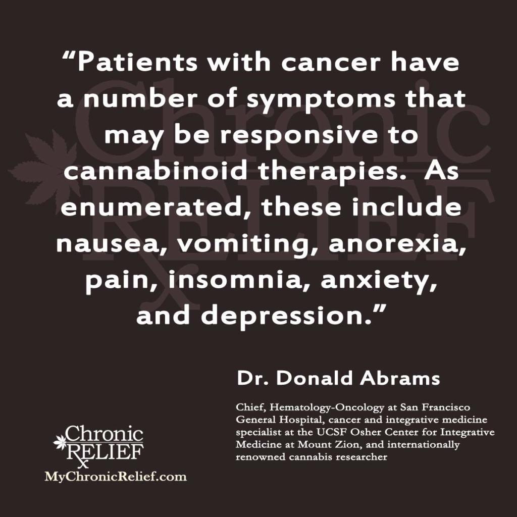 Donald Abrams Quote
