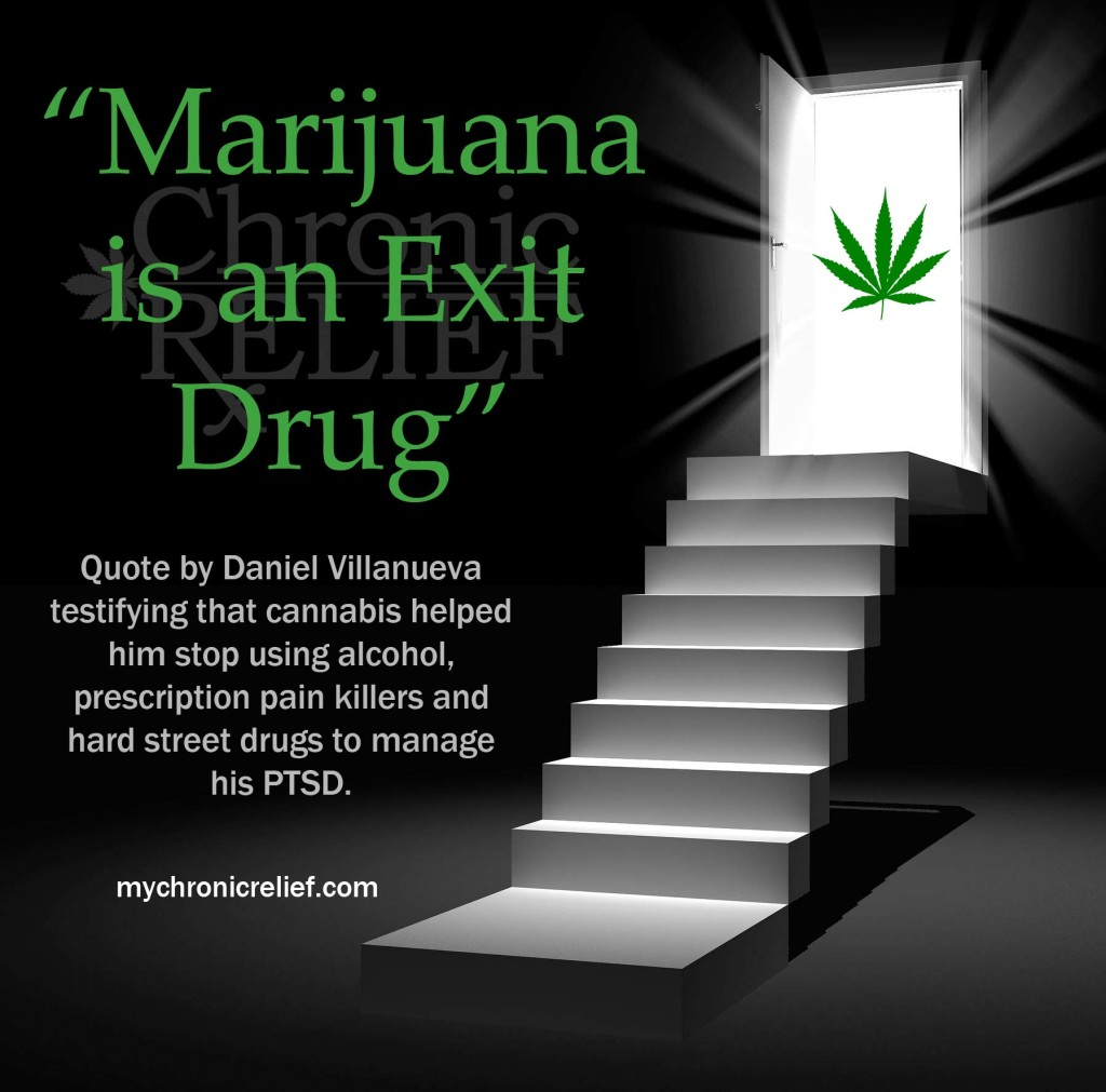 Marijuana is an Exit Drug