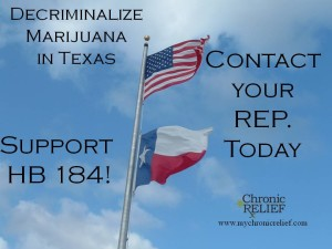 HB184 proposes the decriminalization of 1oz or less of marijuana