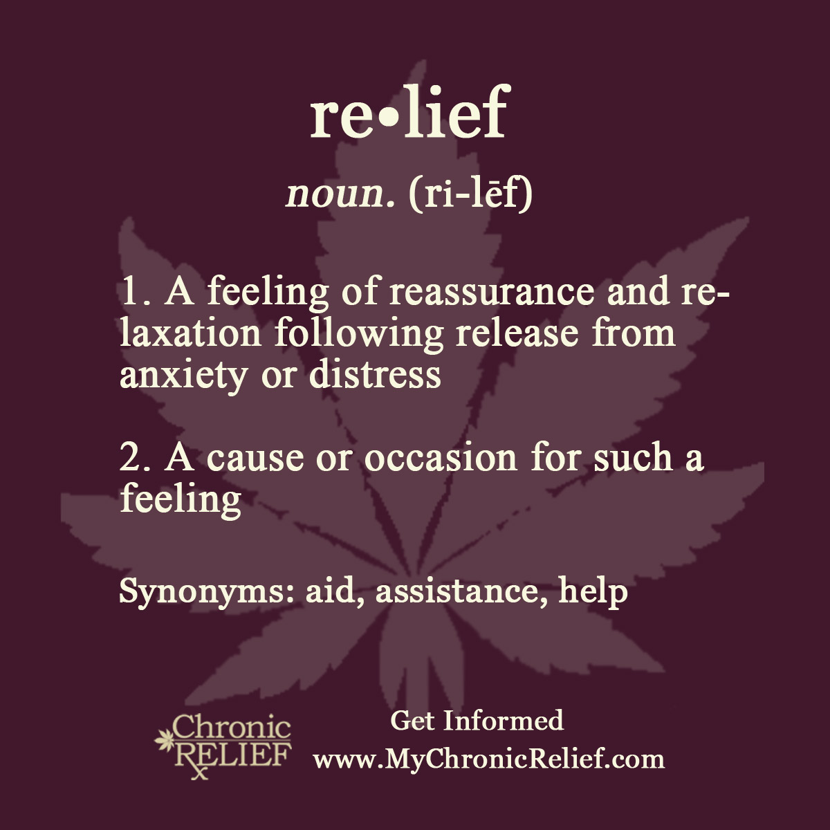 What is the relief