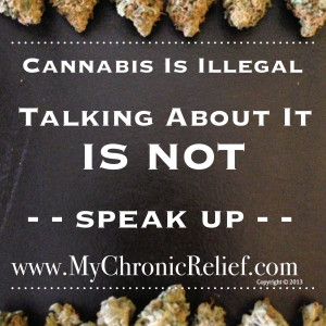 Speak Up About Cannabis