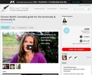 Chronic Relief launches rocket hub campaign for cannabis guide