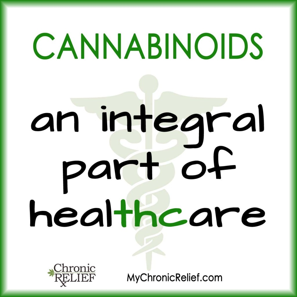 Cannabinoids, part of healthcare